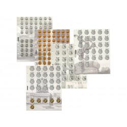 Комплект разделителей для коллекции разменных монет СССР.